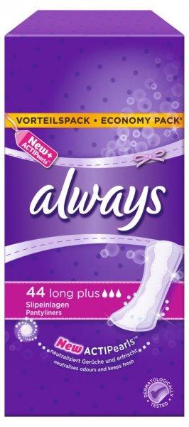 Always Long Plus Slipeinlagen mit geruchsneutralisierenden ActiPearls(TM), Long Plus (EUR 0,06 / Stück)