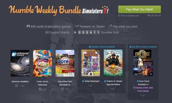 [Steam] Humble Weekly Bundle: Simulators 2