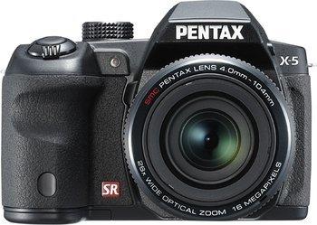 Pentax X-5 Digitalkamera 16 Megapixel, 26-fach opt. Zoom, Full HD  @null