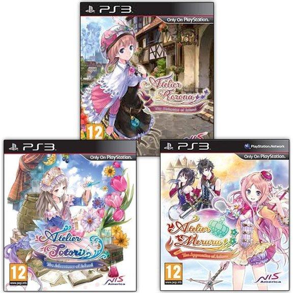 Atelier: The Alchemist of Arland Bundle (Rorona, Totori und Meruru) für PS3