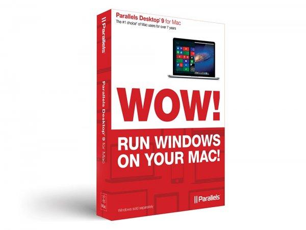 Parallels Desktop 9 Virtualisierungssoftware für Mac, OEM-Version für 34,99 €