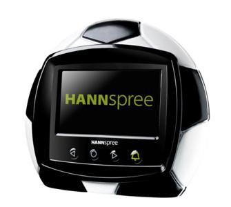 Digitaler Fotorahmen Hannspree-Fussball- für 19,95€ incl.Versand