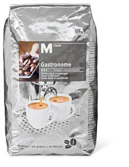@Migros-Shop.de 9 kg M-Classic Gastronome Kaffeebohnen für 56,41.- € (6,27.-€/kg)