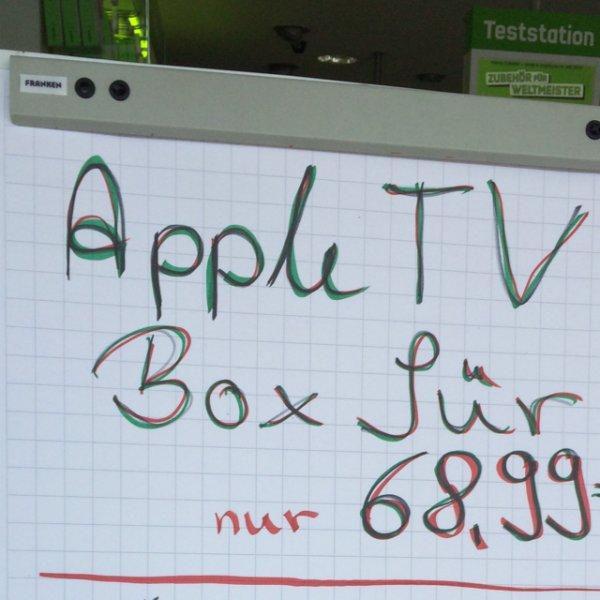 Hamburg Quarre: Apple TV für 68,99 Euro