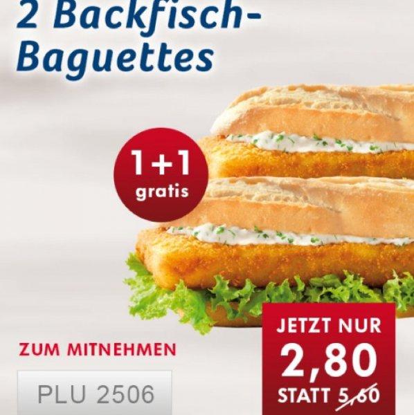Nordsee 1+1 Backfisch-Baguettes