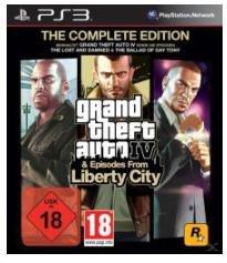 Grand Theft Auto IV - Complete Edition (PS3/360) für 12€ + ggf 4,99€ VSK (oder nur GTA IV für 5€)