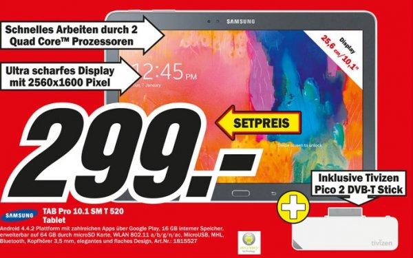 Samsung Tab Pro 10.1 + Tivizen DVB-T Empfänger ( Lokal Media Markt Essen)