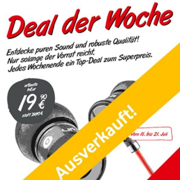 Neuer Vodafone Deal: urBeats 2 Kopfhörer (by Dr Dre) stark reduziert