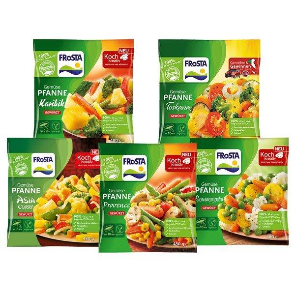 [TEGUT BUNDESWEIT] FRoSTA Gemüsepfannen 3x, 6x oder 9x für je 0,66€/Stück nur noch bis 19.07.2014 (Angebot + Scondoo)