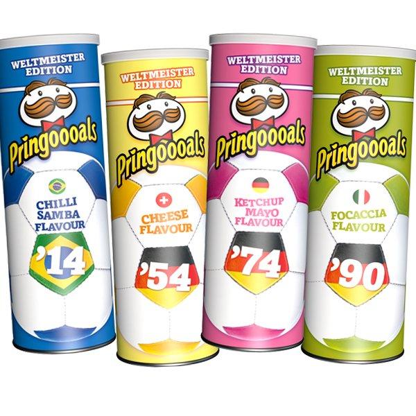 [Thomas Philipps] Pringles Weltmeister-Edition: 4 Dosen á 190g nur 3,99€!