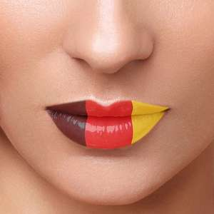 Lip Tattoo 'Germany' & nature rod with vanation and vibration @ice für 0,49€ + VSK