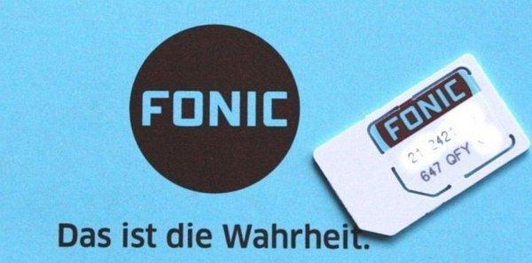 Fonic Prepaid mit 15€ Startguthaben