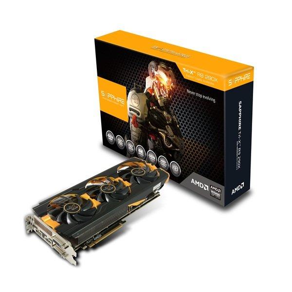 Sapphire Radeon R9 290X Tri-X OC, 4GB GDDR5 Grafikkarte @Ebay = 405,98€