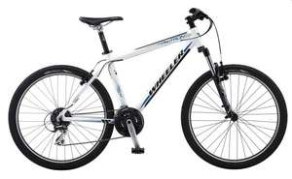 Alu MTB Hardtail, Wheeler, »Protron 600«, 26 Zoll, Shimano 24 Gang, V-Brake Bremsen für 279€ zzgl. 35€ Versand @JEHLE bikes
