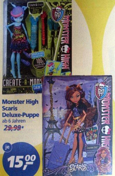 [real] Monster High Puppen für je 15€, verschiedene Modelle