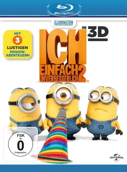 [Wieder verfügbar] Ich - Einfach unverbesserlich 2 [ + Blu-Ray 2D] [Blu-ray 3D]