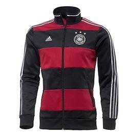 DFB WB 2014 Trainingsjacke schwarz/rot bei Sportscheck