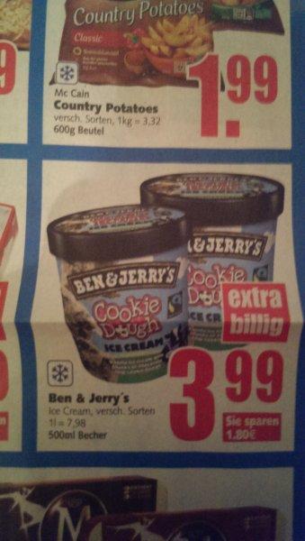 [Lokal?] Ben & Jerry's Eis für 3,99 € bei E-Center