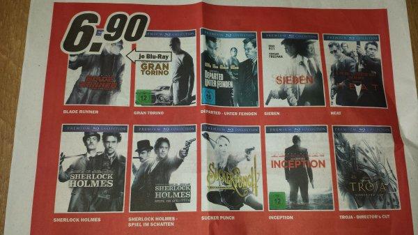 (Offline, lokal MM Göttingen) Blu ray Premium Collection, diverse Titel
