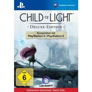 Amazon & Müller Child of Light Complete Editon 14,99 € (PS3+PS4)