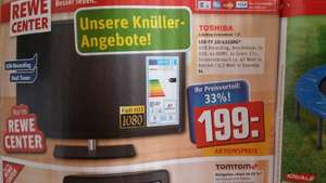 Toshiba LED-TV 80cm Full HD @Rewe-Center