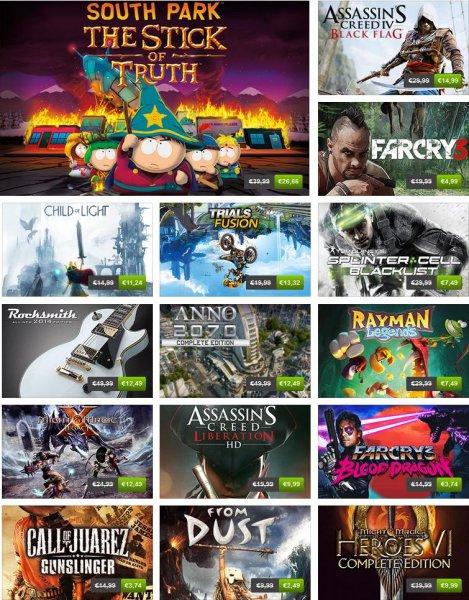 Humble Store Ubisoft Hits