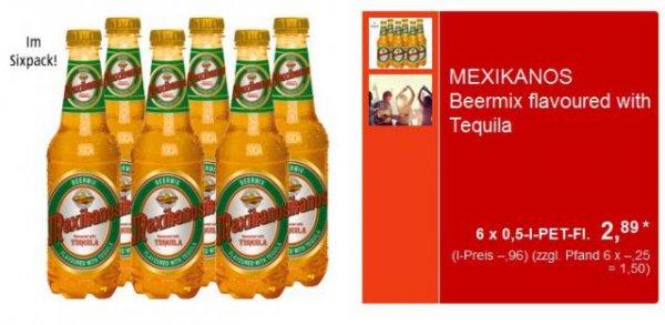 [Aldi Süd] Salitos / Desperados Klon => Mexikanos 6x0,5-l-PET für 2,89€ ab Donnerstag