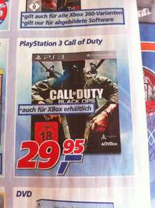 Call of Duty - Black Ops (XBOX360/PS3) für 29,95€ @ real (offline)