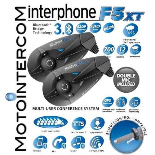 [Ebay] Bike-Funk Interphone F5 xt TWIN SET -28 % billiger! (276,57€ + 19 VSK aus It.)
