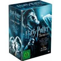[Schlecker] x09 Harry Potter Die Jahre 1 - 6 (DVD) + Gratis Knabberzeug