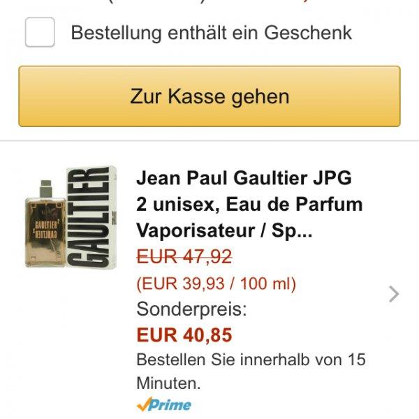 Jean Paul Gaultier 2 Unisex Parfüm
