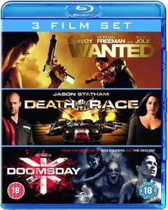 Wanted / Death Race / Doomsday [Blu-ray] für 6,48€ @Zavvi