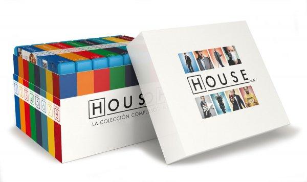 [amazon.es] Dr. House – Die komplette Serie (Staffel 1-8) [Blu-ray] inkl. VSK für 103€ - inkl dt. Tonspur