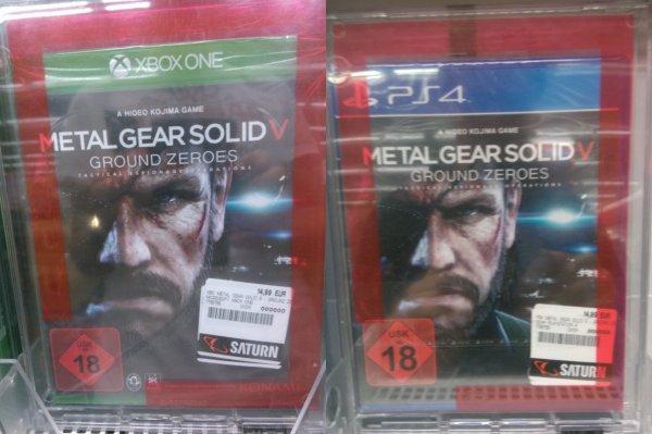 [Lokal] Metal Gear Solid V Ground Zereos im Saturn Heidelberg für 14,99€