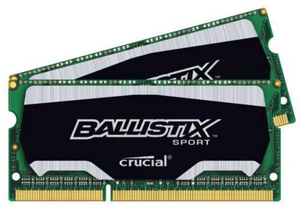 2x8 GB DDR3-SO-Dimm 1600, Crucial Ram Arbeitsspeicher