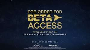 Tipp: Sofort Gratis in die Destiny Beta (PS3 / PS4 / XBONE)