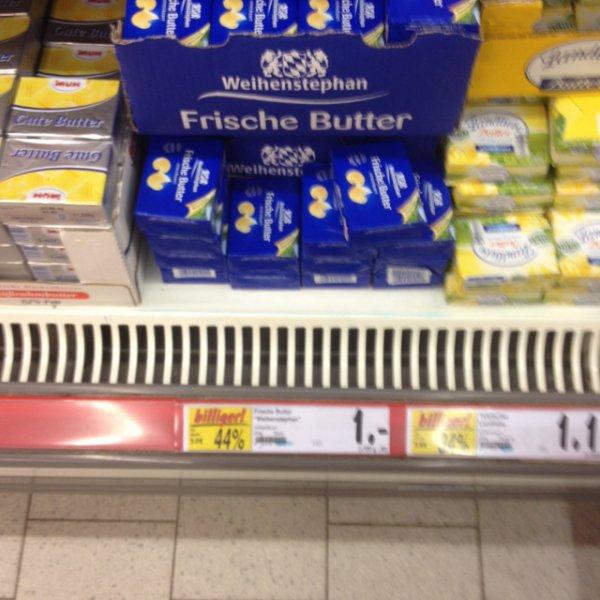 Lokal: Weihenstephan Butter