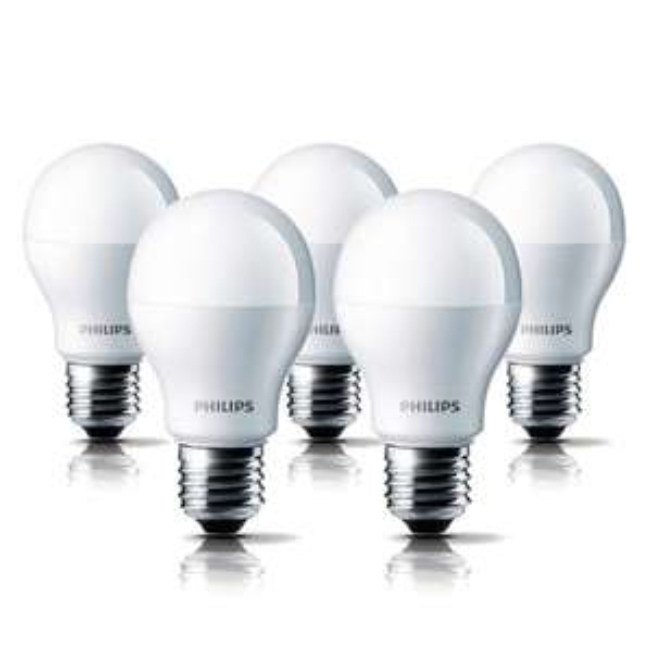 5x Philips LED E27 A60 5,5W für 20 € (effektiv 4€ pro Lampe) versandkostenfrei