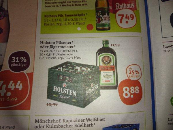 Jägermeister 0,7 l für 8,88 € bei tegut