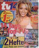 TV 14   incl. Welt der Wunder Zeitschrift ( 3,50,-  ) für 1,- ( Lokal ?? ) Offline !!