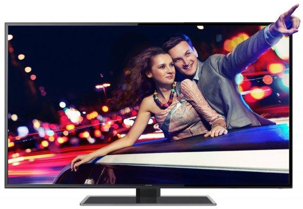 Thomson 55FZ4633 140 cm (55 Zoll) 3D LED-Backlight-Fernseher, EEK A+ (Full HD, 100Hz CMI, DVB-C/T, Smart TV, HbbTV, DLNA, CI+, Hotelmodus) inkl. Glasfuß schwarz für 649,99€ @ Amazon.de