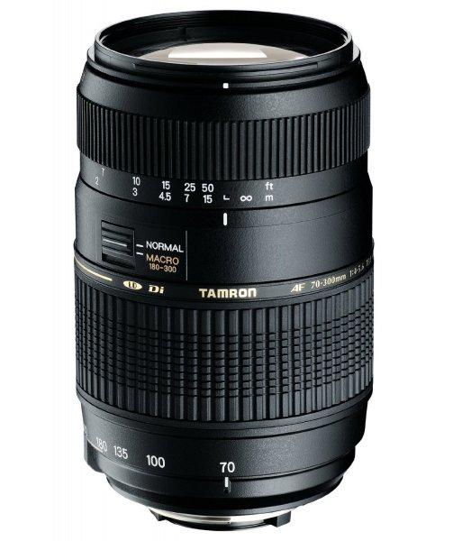 Tamron AF 70-300mm F/4-5,6 Di LD IF Makro 1:2 für Canon ca. 80 €