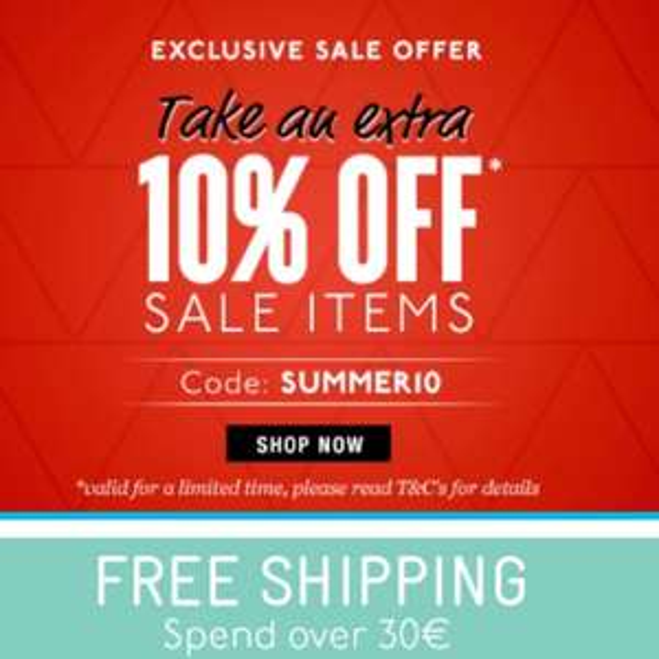 10 % extra auf Sale Artikel bei Surfstitch.com