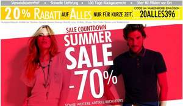 guna.de, 70% Rabatt im Sale & 20% Ermäßigung mit Gutscheincode