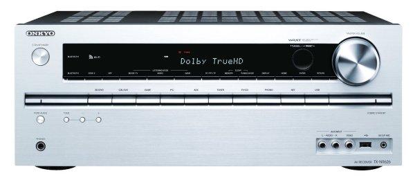 Onkyo TX-NR626 (S) 7.2-Kanal AV-Netzwerk-Receiver (WiFi, Bluetooth, 6 HDMI IN, Musikdienste, Remote App, 2 Zonen) @amazon 269,99€