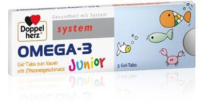 Omega 3 Junior Gratis Produktprobe