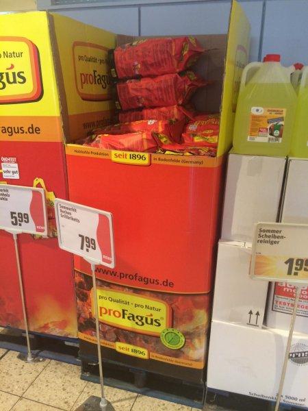 proFagus Buchen-Grillbriketts und Holzkohle 1,44€/Kg bzw. 7,19/5Kg @ REWE, Offline