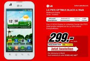 LG Optimus P970 in weis bei MM [LOKAL??] 299€