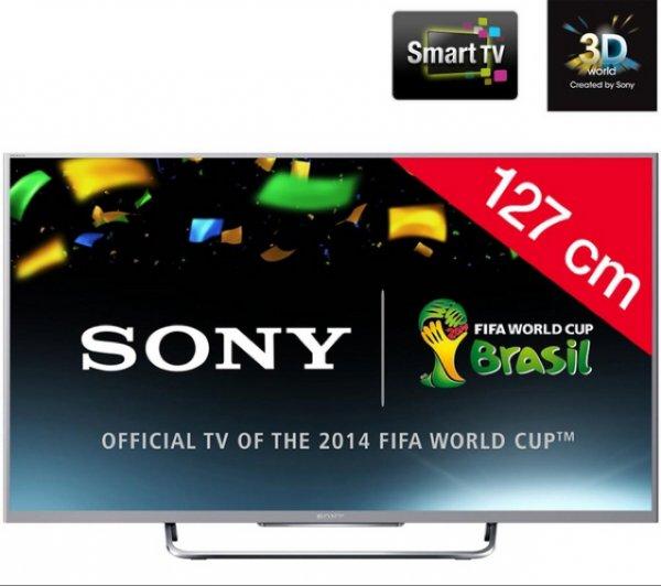 "Sony KDL-50W815b 50"" 3D Smart Tv 600Hz @Pixmania.de"