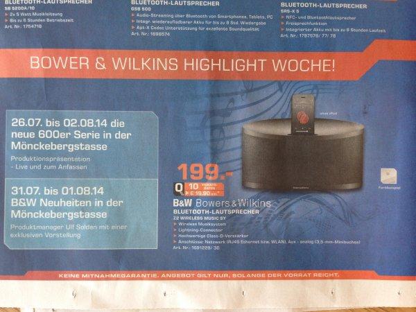 [Lokal Saturn Hamburg?] B&W Z2 Wireless Music System